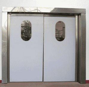 Маятниковые двери из алюминия