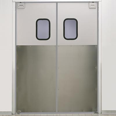 Маятниковые алюминиевые двери