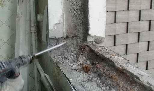 особенности демонтажа алюминиевых окон