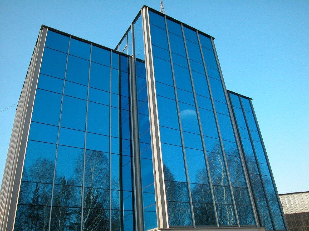 Технология фасадного остекления