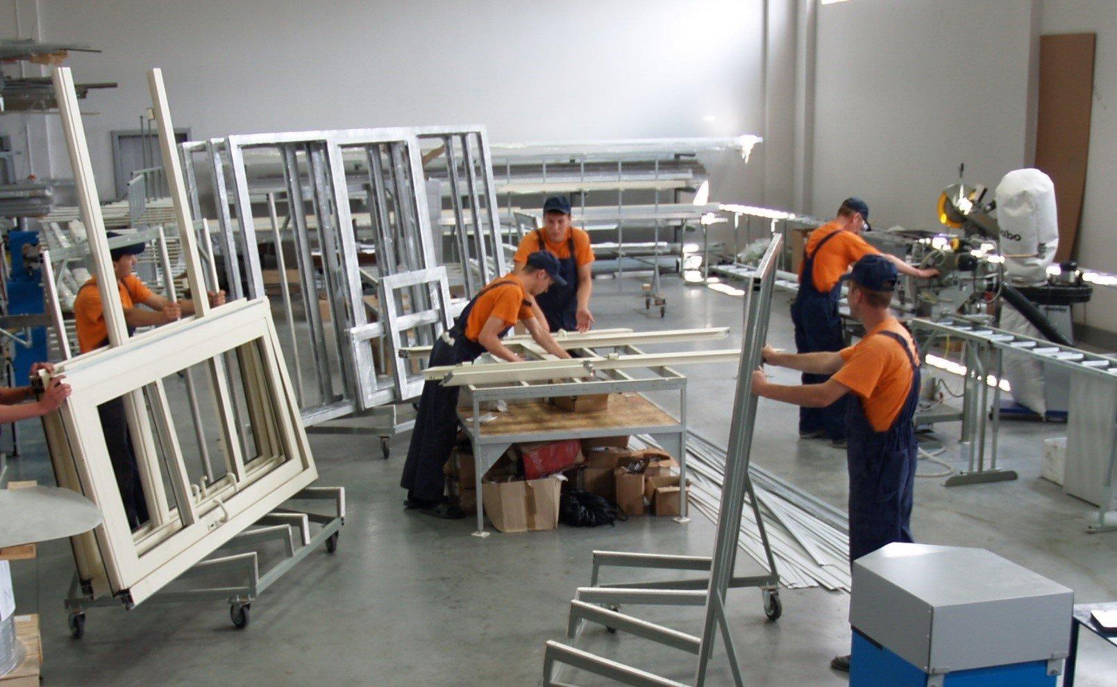 технология производства алюминиевых окон