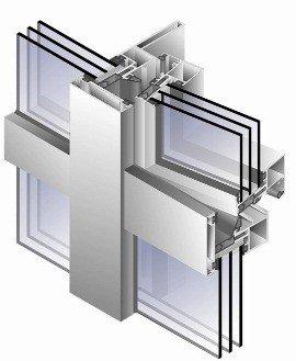 Уплотнения на алюминиевых дверях