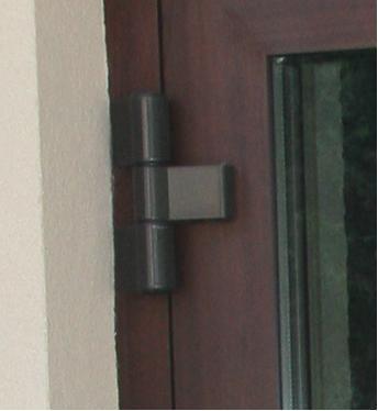Петли для алюминиевых дверей 3-х секционные